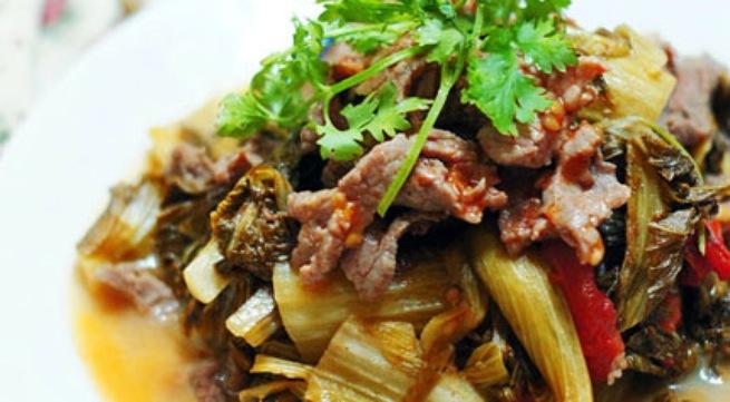 Cách làm thịt bò xào dưa chua đơn giản mà cực ngon | Món Ngon Sài Gòn