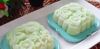 Cách làm bánh dẻo lá dứa nhân đậu xanh đẹp mắt lại cực thơm ngon