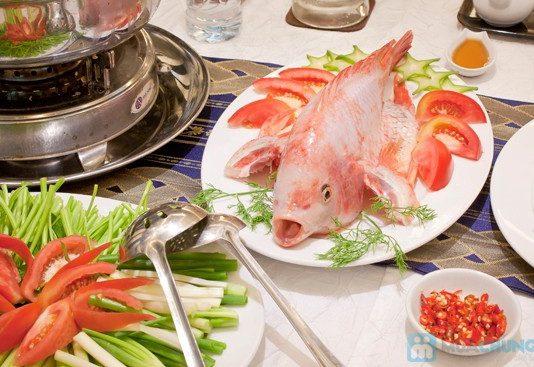 Cách làm lẩu cá diêu hồng chua ngọt món ngon ấm bụng ngày đông