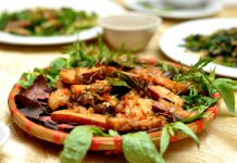Cách làm heo rừng nướng muối ớt lạ miệng dễ làm
