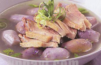 Cách làm món vịt nấu khoai môn thơm ngon đậm đà